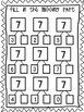 Number Bonds- Parts of 7