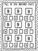 Number Bonds-Parts of 9