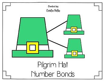 Number Bonds-Pilgrim Hats