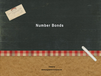 Number Bonds PowerPoint