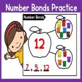 Number Bonds Practice (numbers 11-20)