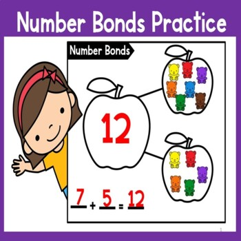 Number Bonds Practice (numbers 11-20)