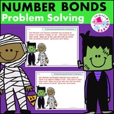 Halloween Number Bonds Problem Solving Set