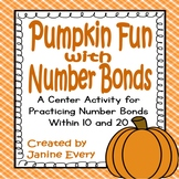 Number Bonds: Pumpkins
