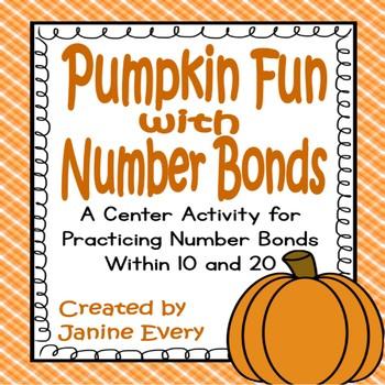 Number Bonds: Pumpkins