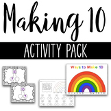 Ways to Make 10 Activity Pack