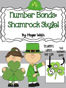 Number Bonds Shamrock Style