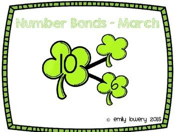 Number Bonds Shamrocks