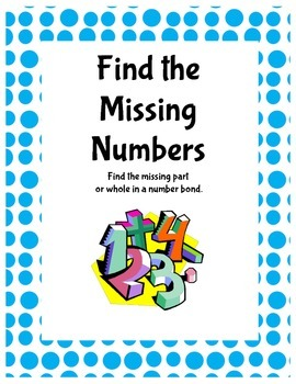 Number Bonds: Find the Missing Number