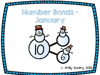 Number Bonds Snowmen