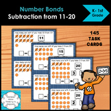 Number Bonds Subtracting from 11-20