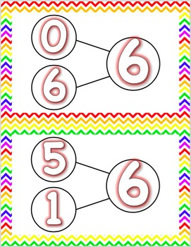 Number Bonds - Sums to 10