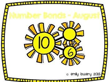 Number Bonds Suns