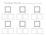 Number Bonds Template