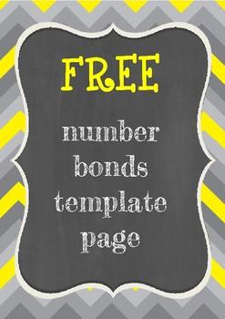 Number Bonds Template
