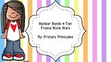 Number Bonds & Ten Frame Work Mat