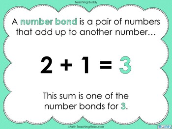 Number Bonds - The Story of 3