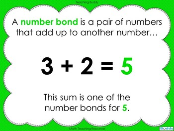 Number Bonds - The Story of 5