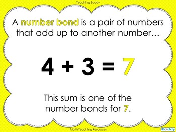 Number Bonds - The Story of 7