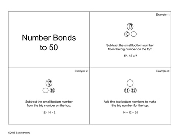 Number Bonds To 50