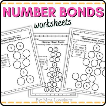 Number Bonds Trees 0-9 - Singapore math