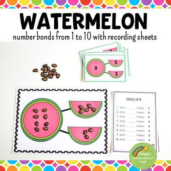 Number Bonds - Watermelon