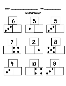 Number Bonds - What's missing?
