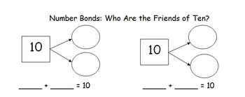 Number Bonds: Who Are the Friends of Ten?