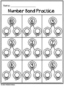 Number Bonds {Winter Theme}