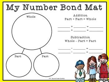 Number Bonds Work Mat