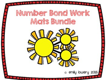 Number Bonds Work Mats Bundle