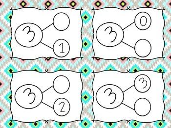 Math Task Cards (Number Bonds)