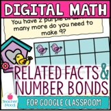 Number Bonds and Related Facts Digital Math Google Classro