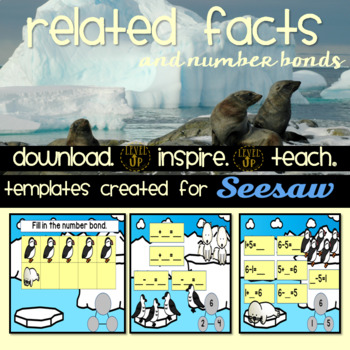 Number Bonds and Related Facts Digital Template