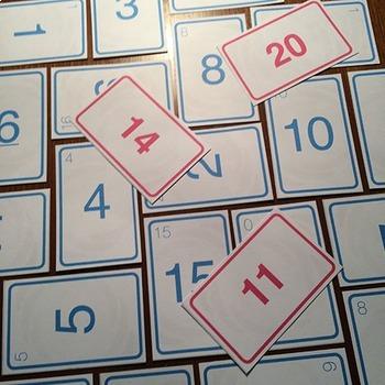 Number Bonds Card Game