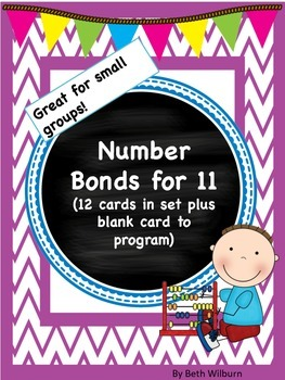 Number Bonds for 11- I Have, Who Has