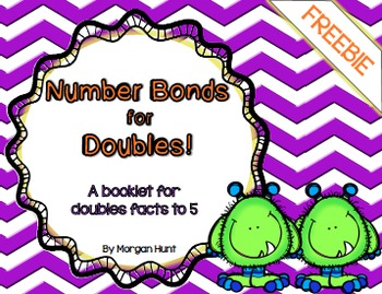FREEBIE - Number Bonds for Doubles! {A booklet for doubles