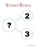 Number Bonds for Kindergarten (5 Worksheets)