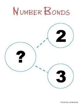 Number Bonds for Kindergarten (5 Worksheets)