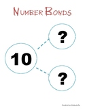 Number Bonds for Kindergarten (Free Worksheets)