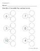 Number Bonds for Kindergarten (Free Worksheets)