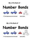 Number Bonds for Kindergarten: Printable Projectable Book Supports EngageNY