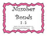 Number Bonds (for numbers 3 - 5)