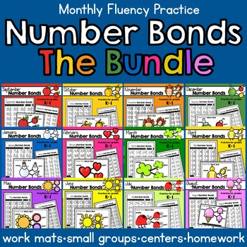 Number Bonds for the Whole Year- THE BUNDLE