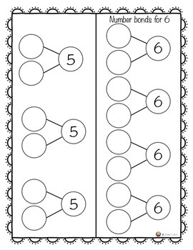 Number Bonds from 5 to 20