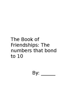 Number Bonds of 10 Book