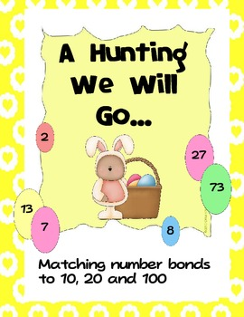 Number Bonds to 10, 20 and 100 Bundled Pack - A Hunting We