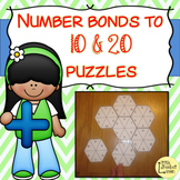 Number Bonds to 10 & 20 Puzzles / Jigsaws