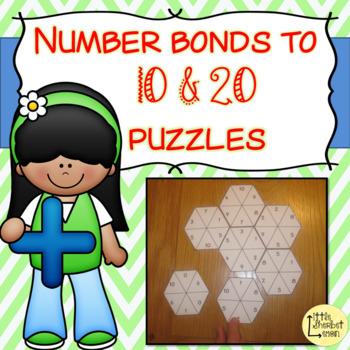 Number Bonds to 10 & 20 puzzles