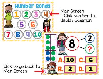 Number Bonds to 10 Games